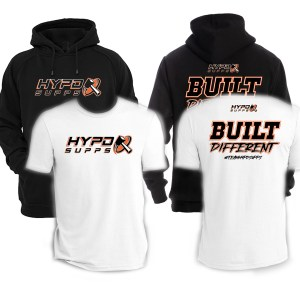 HYPD 2021 BUILT DIFFERENT HOODIE | T BUNDLE