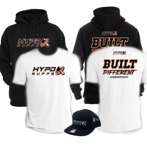 HYPD 2021 BUILT DIFFERENT HOODIE | T BUNDLE | SNAPBACK HAT